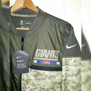 promo code cf837 a3539 NFL NY Giants Salute to Service Jacket Men's Small NWT